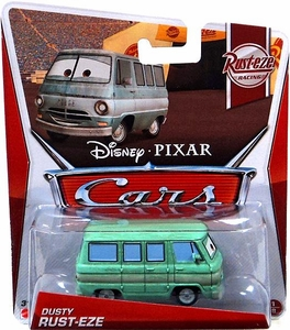 Disney / Pixar CARS Movie 1:55 Die Cast Car Dusty Rust-Eze [Rust-eze Racing 1/8]