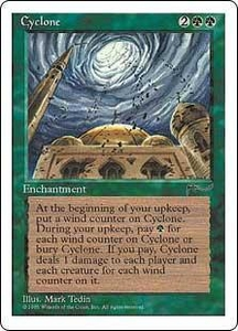 Magic the Gathering Chronicles Single Card Rare Cyclone