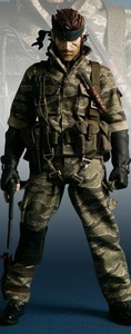 Metal Gear Solid 3 Snake Eater Medicom RAH Real Action Heroes 1:6 Scale Figure Snake [Tiger Camo]
