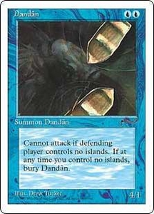 Magic the Gathering Chronicles Single Card Common Dandan