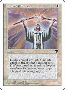 Magic the Gathering Chronicles Single Card Common Divine Offering