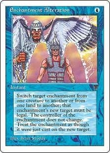Magic the Gathering Chronicles Single Card Uncommon Enchantment Alteration