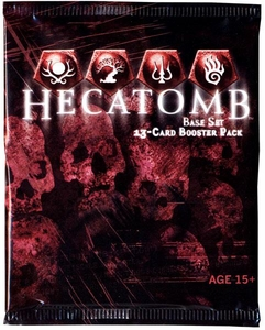 Hecatomb Trading Card Game Premiere Booster Pack [13 Cards] BLOWOUT SALE!