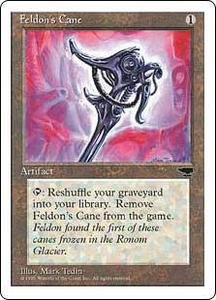 Magic the Gathering Chronicles Single Card Common Feldon's Cane