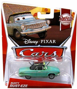 Disney / Pixar CARS Movie 1:55 Die Cast Car Rusty Rust-Eze [Rust-eze Racing 3/8]