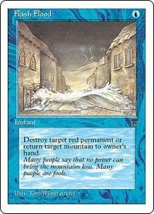 Magic the Gathering Chronicles Single Card Common Flash Flood