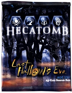 Hecatomb Trading Card Game Last Hallows Eve Booster Pack [13 Cards] BLOWOUT SALE!