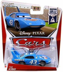 Disney / Pixar CARS Movie 1:55 Die Cast Car The King [Piston Cup 8/18]