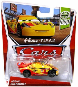 Disney / Pixar CARS Movie 1:55 Die Cast Car Miguel Camino [WGP 7/17]