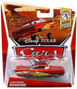 Disney / Pixar CARS Movie 1:55 Die Cast Car Lightning Ramone [Retro Radiator Springs 3/8]