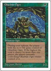 Magic the Gathering Chronicles Single Card Common Ghazban Ogre