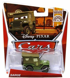 Disney / Pixar CARS Movie 1:55 Die Cast Car Sarge [Wheel Well Motel 2/11]