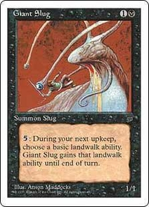 Magic the Gathering Chronicles Single Card Common Giant Slug