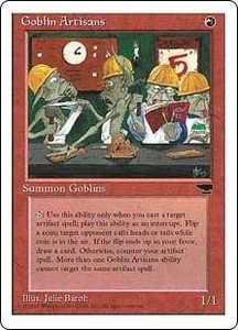 Magic the Gathering Chronicles Single Card Uncommon Goblin Artisans