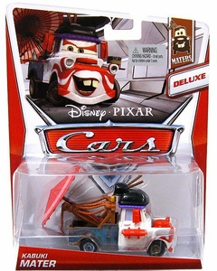 Disney / Pixar CARS Movie 1:55 Die Cast Car Deluxe Kabuki Mater [Maters 3/6]