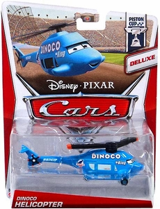 Disney / Pixar CARS Movie 1:55 Die Cast Car Deluxe Dinoco Helicopter