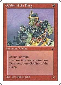 Magic the Gathering Chronicles Single Card Common Goblins of the Flarg