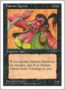 Magic the Gathering Chronicles Single Card Common Hasran Ogress