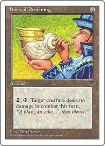 Magic the Gathering Chronicles Single Card Rare Horn of Deafening