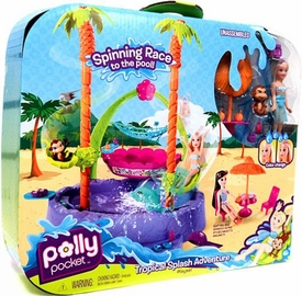 Polly Pocket Playset Tropical Splash Adventure BLOWOUT SALE!
