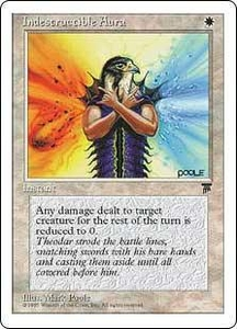 Magic the Gathering Chronicles Single Card Common Indestructible Aura