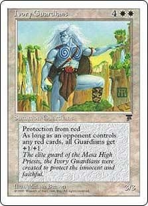 Magic the Gathering Chronicles Single Card Uncommon Ivory Guardians