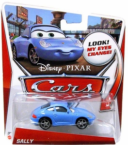 Disney / Pixar CARS Movie 1:55 Die Cast Car with Lenticular Eyes Sally