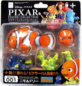 Finding Nemo Revoltech Pixar Figure Collection #001 Nemo & Dory BLOWOUT SALE!