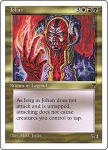 Magic the Gathering Chronicles Single Card Rare Johan