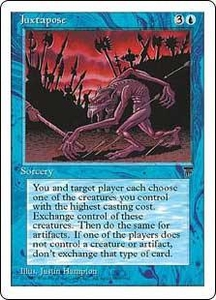 Magic the Gathering Chronicles Single Card Rare Juxtapose