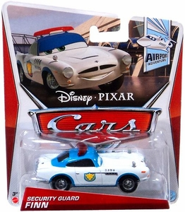 Disney / Pixar CARS Movie 1:55 Die Cast Car Security Guard Finn [Airport Adventure 4/7]