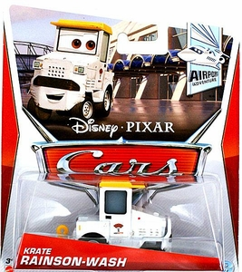 Disney / Pixar CARS Movie 1:55 Die Cast Car Krate Rainson Wash [Airport Adventure 6/7]