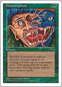 Magic the Gathering Chronicles Single Card Common Metamorphosis
