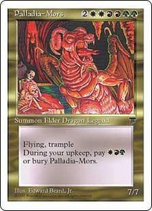 Magic the Gathering Chronicles Single Card Rare Palladia-Mors
