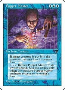 Magic the Gathering Chronicles Single Card Uncommon Puppet Master