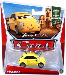 Disney / Pixar CARS Movie 1:55 Die Cast Car Franca [Festival Italiano 4/10]
