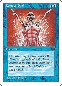 Magic the Gathering Chronicles Single Card Common Remove Soul