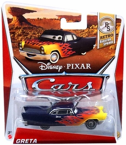 Disney / Pixar CARS Movie 1:55 Die Cast Car Greta [Retro Radiator Springs 6/8]