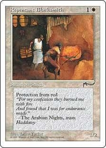 Magic the Gathering Chronicles Single Card Common Repentant Blacksmith
