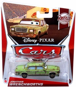 Disney / Pixar CARS Movie 1:55 Die Cast Car Jonathan Wrenchworths [Rust-eze Racing 4/8]