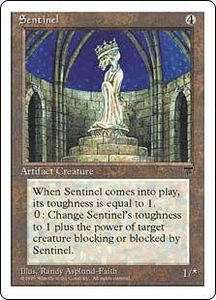 Magic the Gathering Chronicles Single Card Rare Sentinel
