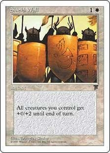 Magic the Gathering Chronicles Single Card Uncommon Shield Wall