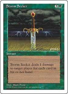 Magic the Gathering Chronicles Single Card Uncommon Storm Seeker