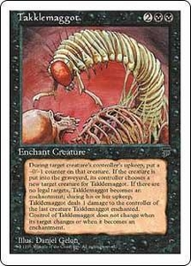 Magic the Gathering Chronicles Single Card Uncommon Takklemaggot