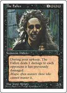 Magic the Gathering Chronicles Single Card Uncommon The Fallen