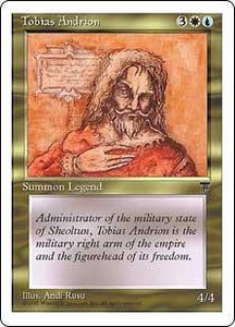 Magic the Gathering Chronicles Single Card Uncommon Tobias Andrion