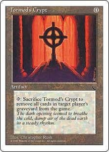 Magic the Gathering Chronicles Single Card Common Tormod's Crypt