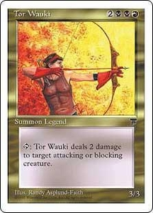 Magic the Gathering Chronicles Single Card Uncommon Tor Wauki