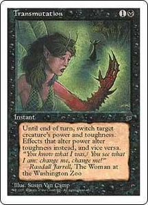 Magic the Gathering Chronicles Single Card Common Transmutation