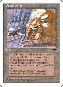 Magic the Gathering Chronicles Single Card Uncommon Urza's Mine [Random Artwork]